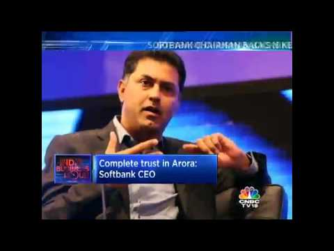 Sack Nikesh Arora: Shareholders To Softbank