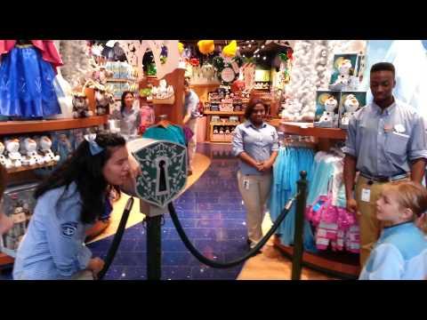Disney Store Times Square  ceremony Nov. 18th, 2013