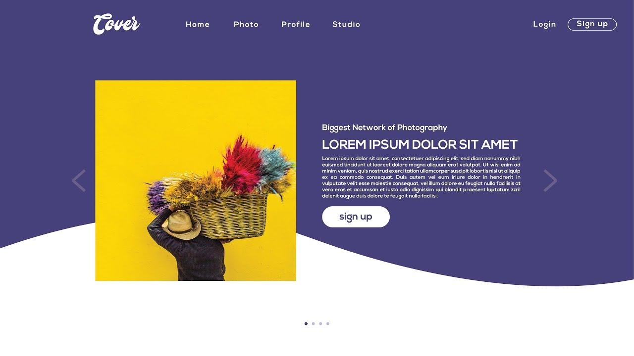 Illustrator Bangla Tutorial: How to Web page UI Design | ওয়েবপেজ ডিজাইন টিউটোরিয়াল