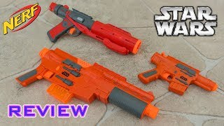 [REVIEW] Star Wars Rogue One Group Nerf Unboxing, Review, & Firing Test