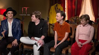 It Chapter Two: Stars Jack Dylan Grazer, Jeremy Ray Taylor, Jaeden Lieberher, Sophia Lillis
