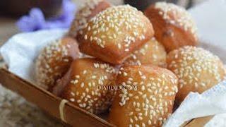 Roti Bantal Bolang Baling Wijen Empuk Dan Lembut @Dafa TubeHD