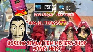 Borong MisteriShop Money Heist - Free Fire Indonesia