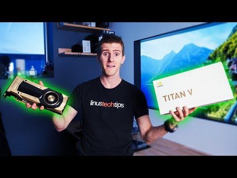 Nvidia Titan V - Classic Unboxing