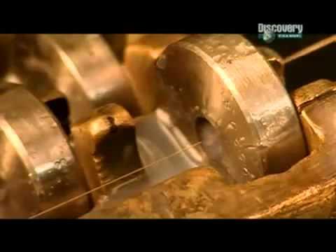 Как делают золотые ювелирные изделия. DISCOVERY