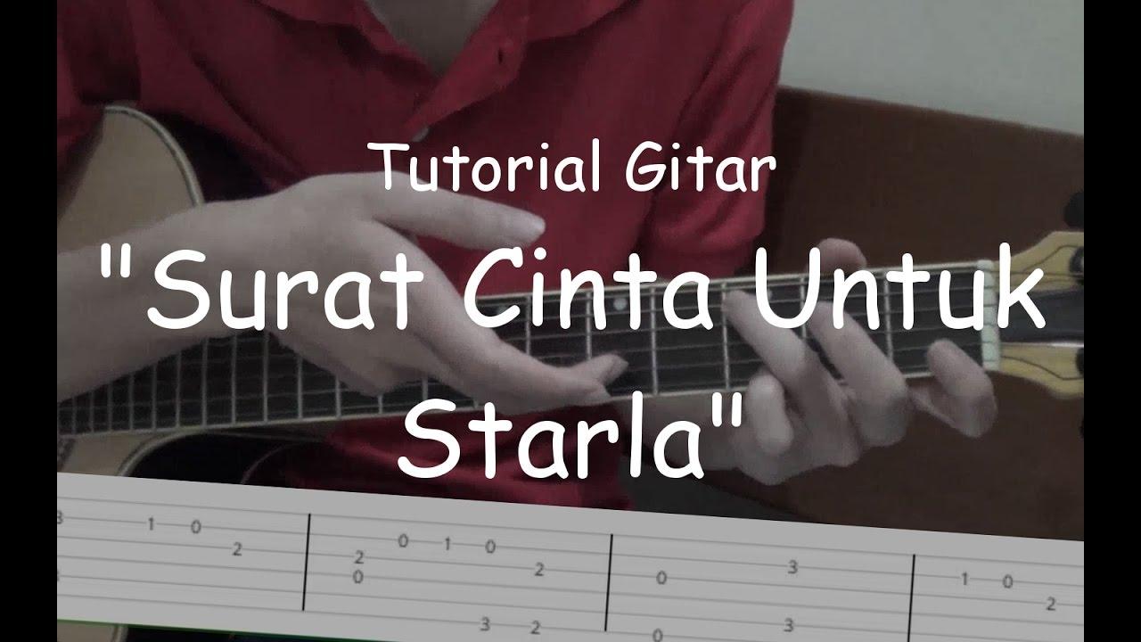 Belajar Gitar Surat Cinta Untuk Starla Virgoun