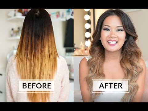 How To Fix Brassy Orange Hair Youtube
