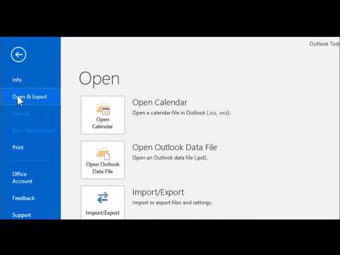Import your old email into Office 365