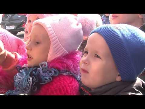 Малыши в гостях у пожарных ПЧ-69 Шушенского района