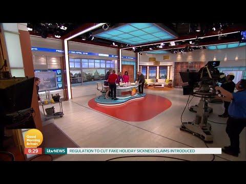 Good Morning Britain (Closing) Last Show From ITV Studios - 13th April 2018
