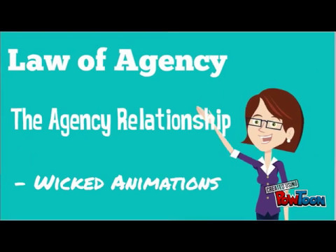 ACCA F4 - Law of Agency - The agency Relationship - Business Law