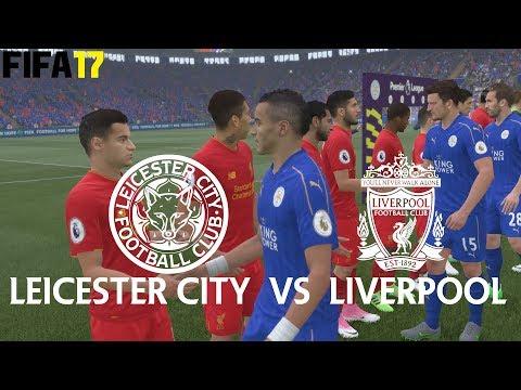 FIFA 17 (PS4 Pro) Leicester City v Liverpool PREMIER LEAGUE 23/09/2017 PREDICTION SIM 1080P 60FPS