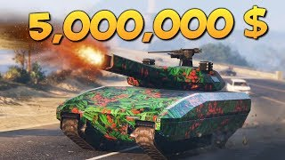 GTA ONLINE - КУПИЛ ТАНК С ГАУСС ПУШКОЙ ЗА 5000000$ #348