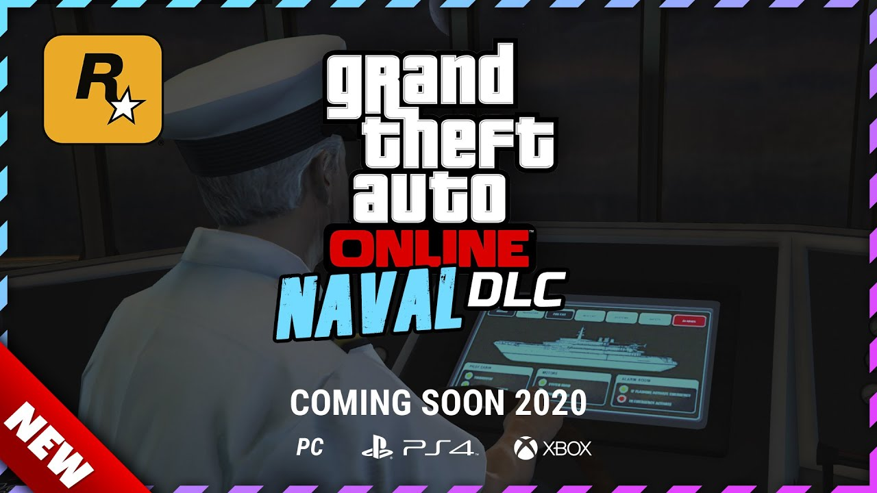 GTA Online YACHT NAVAL UPDATE MISSIONS from the NEW GTA 5 SUMMER UPDATE DLC | New Yacht Interior?