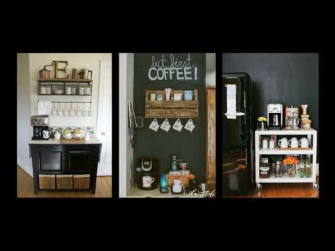 50+ Home Coffee Bar Ideas - DIY Home Decor Inspiration
