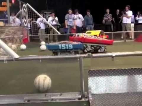Dean Kamen takes a soccer ball to the face