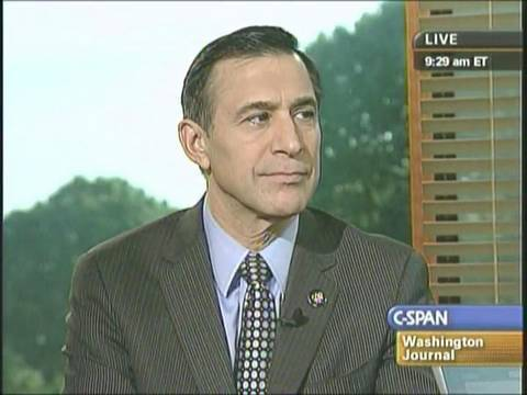 Rep. Issa Connects Countrywide VIP Loan Program to Broader US Financial Collapse