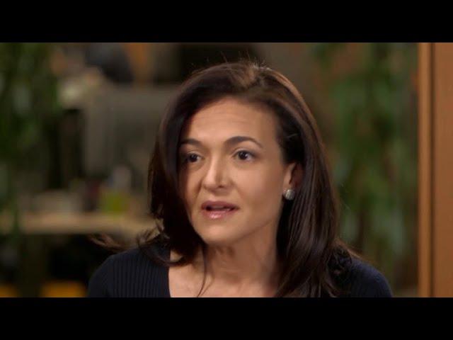 Sheryl Sandberg apologizes for Facebook data scandal