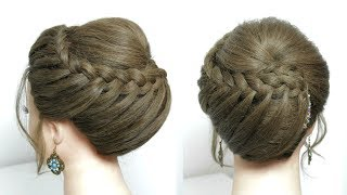 Beautiful Hairstyle For Long Medium Hair. New Juda Style