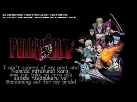 STRIKE BACK / BACK-ON 【Instrumental】|Fairy Tail (2014) OP2 Full | MP3 With Voice