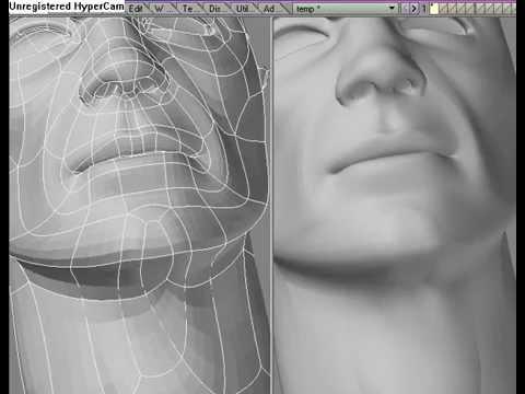 Face Modeling Tutorial Lightwave 3D