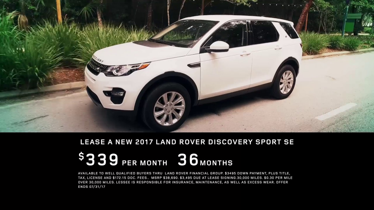 Fields Land Rover >> Lease A 2017 Land Rover Discovery Se Become A Member Of The Fields Family