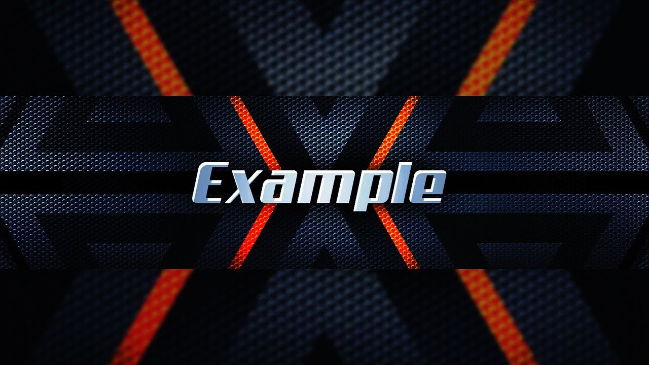 New Free 2018 Youtube Gfx Banner Template Free Youtube Banner Template Psd