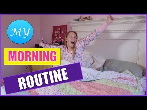 Middle School Morning Routine