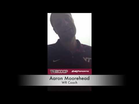 VT Media Day: Aaron Moorehead