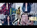 Fall Try on Haul 2016: Autumn Outfit Ideas