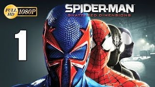 Spiderman Shattered Dimensions Walkthrough Parte 1 Prologo Español Gameplay PC PS3 Xbox360