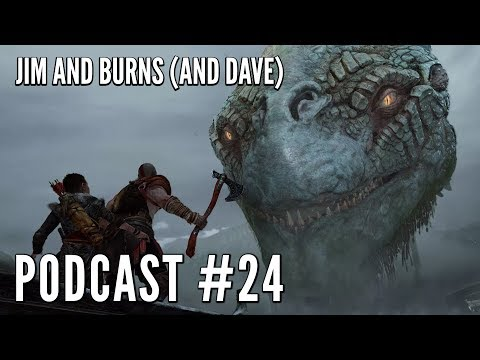 PODCAST #24: God of War, Infinity War, War: What is it Good For, Westworld