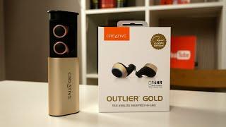 Creative Outlier Gold - лучшие bluetooth TWS наушники до 10000 рублей? / Арстайл /