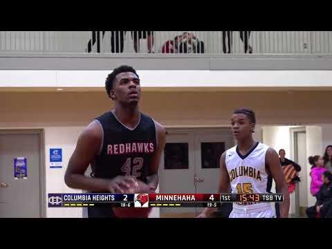 High School Boys Basketball: Columbia Heights vs. Minnehaha Academy
