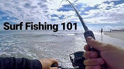 Beach Fishing Tutorial - Surf Fishing the Easiest Way Tips and 101