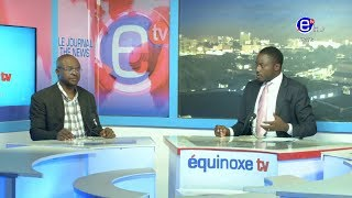 THE 6PM NEWS (GUEST: Elvis TAYONG) WEDNESDAY 22nd MAY 2019 - EQUINOXE TV