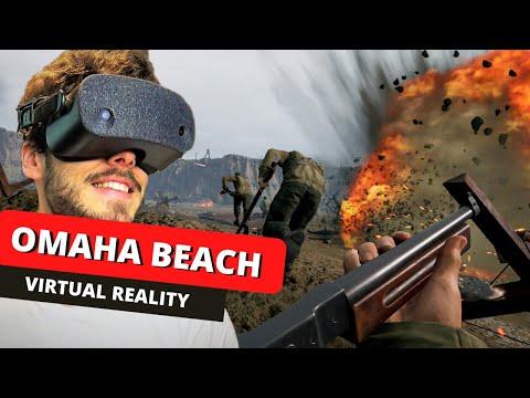 Omaha Beach Invasion in VR - A gamers dream come true?
