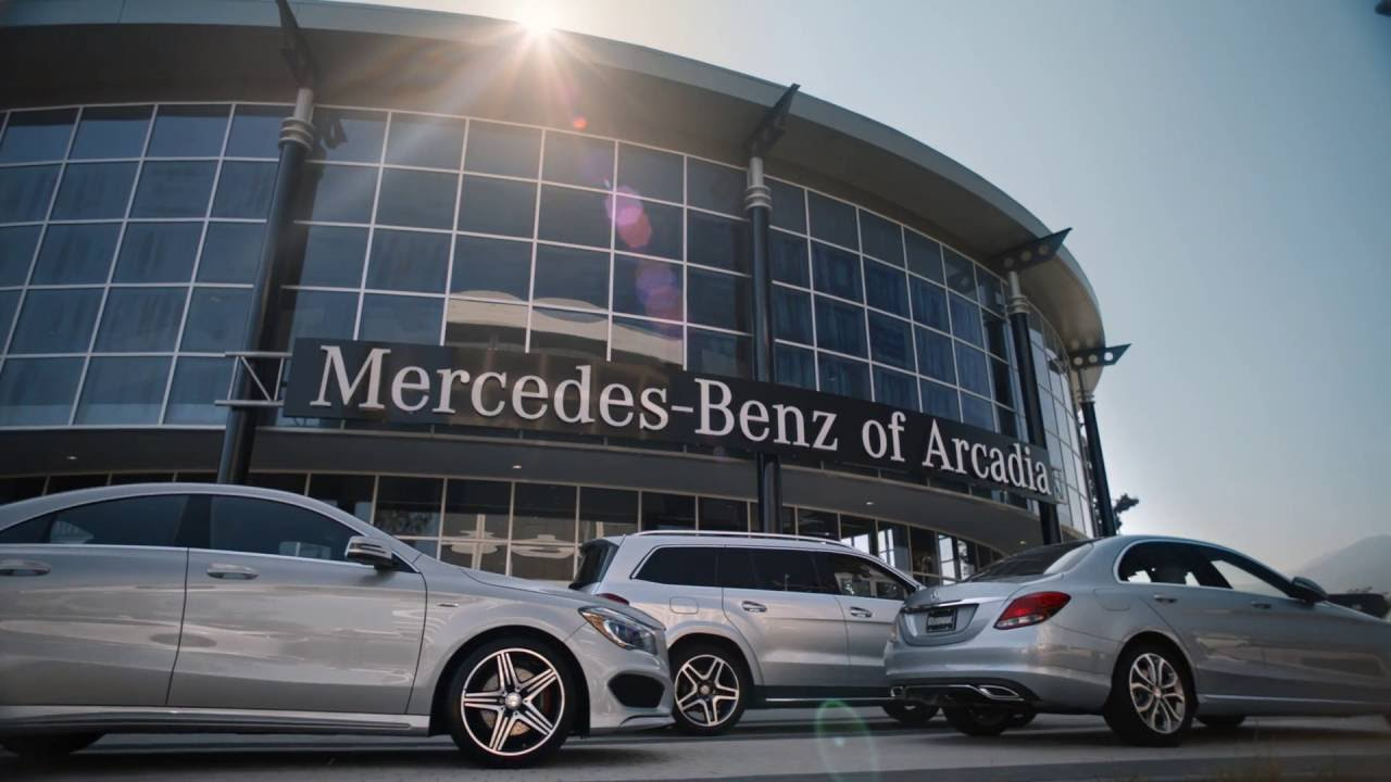 the all new mercedes benz of arcadia work done youtube