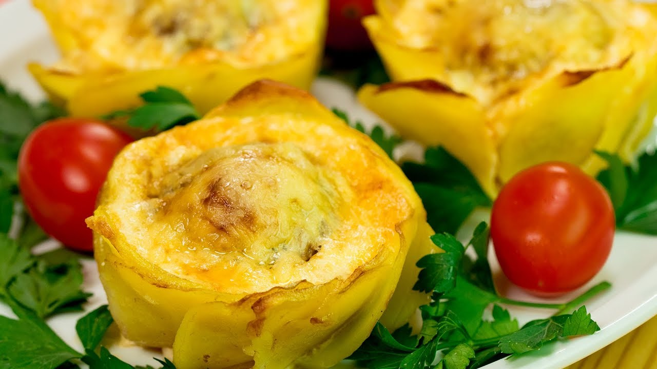 Мы влюбились в это блюдо всей семьей! Картофельные корзинки украсят новогодний стол! | Appetitno.TV