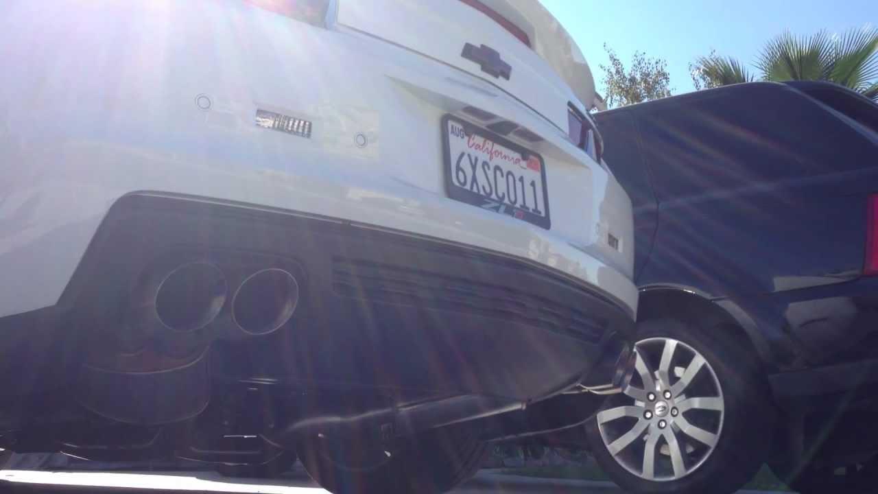 2013 Camaro Zl1 604 Rwhp 698 Bhp Exhaust Sound W Mods
