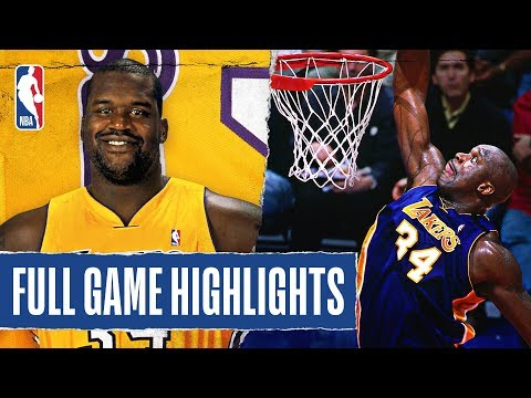 FULL GAME HIGHLIGHTS: Shaq Goes For CAREER-HIGH 61 PTS With 23 REB!
