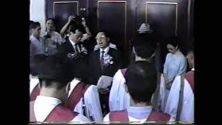 19890917信友堂獻堂感恩禮拜01_開門啟用_祈禱_沈正牧師