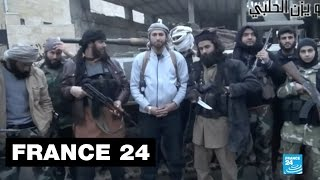 Repeat youtube video Caught on camera: Life under IS rule in Raqqa - Syria