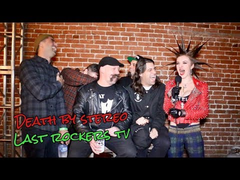 DEATH BY STEREO talk 20 YEARS AS A BAND, PANTSING, DAN'S MUSTACHE, & STORIES FROM THE ROAD