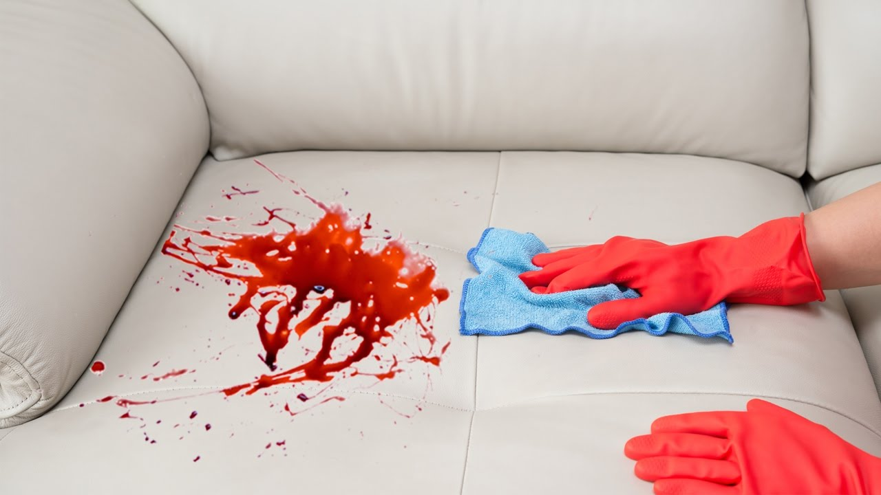 How To Remove A Stain From A Sofa YouTube