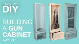 DIY Gun Cabinet Part 2 of 3