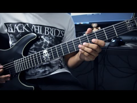 Black Veil Brides - The Outsider (Guitar Cover + Tabs)