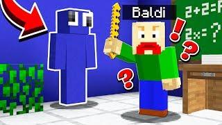 BALDI'S BASICS SCHOOL MINECRAFT CHALLENGE!