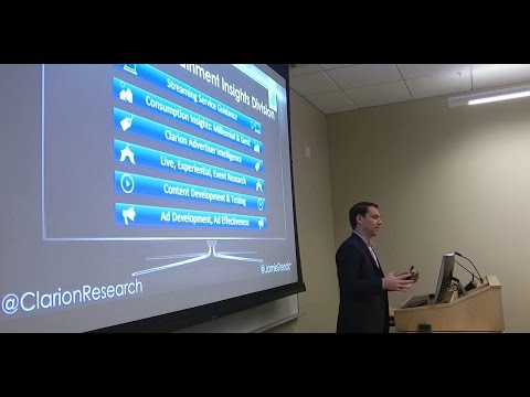 Social Media Insights Lecture at Fordham University - Jamie Stenziano