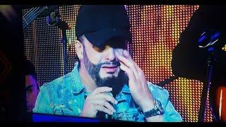 El llanto de Nelson Velásquez en concierto virtual